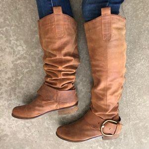 Ruckuss Knee-high Boots